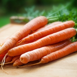 carrots for eyesight
